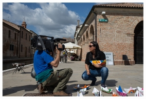 intervista Rai a Linda Brindisi