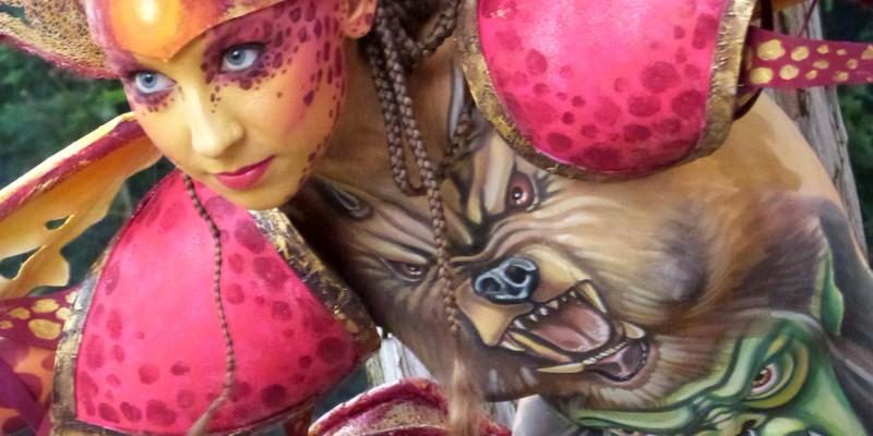 BARDOLINO D/GARDA – Festival del Bodypainting  Mincio&Dintorni