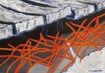 Emergono i pensieri 2015 olio su tela 50x70 copia